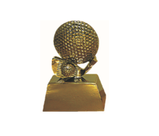 FT4147 Half Fiber Golf Trophy (A/B/C)