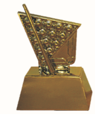 FT4167 Half Fiber Snooker Trophy (A/B/C)