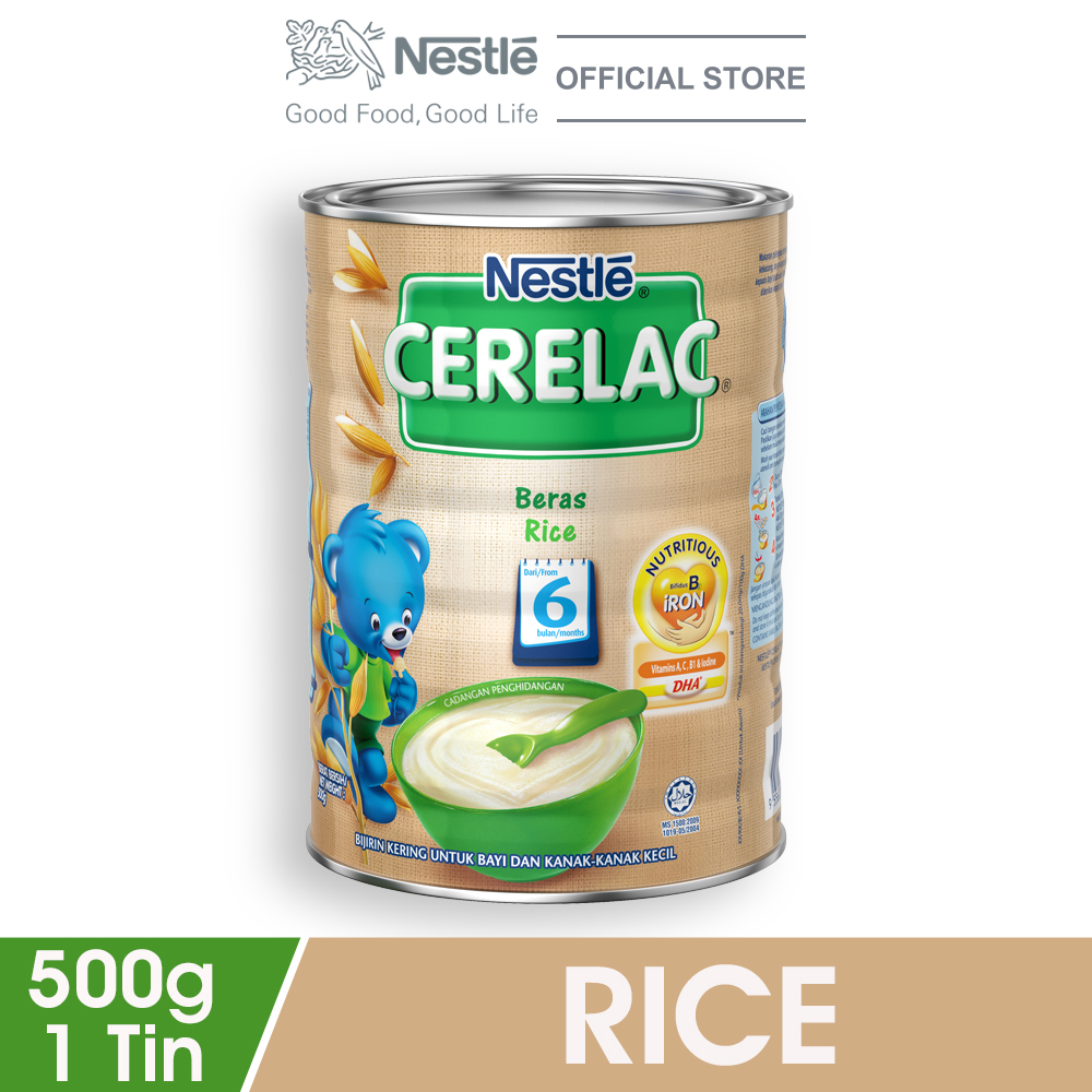 NESTLE CERELAC Rice Infant Cereal Tin 500g