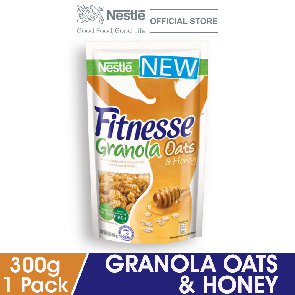 NESTLÉ FITNESSE Granola Oats & Honey 300g