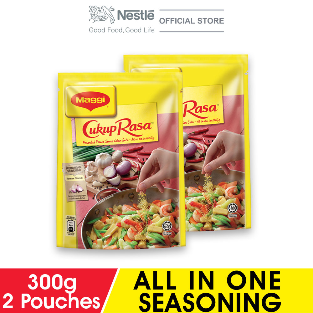 MAGGI Cukup Rasa All In One Seasoning 300g x2 packs