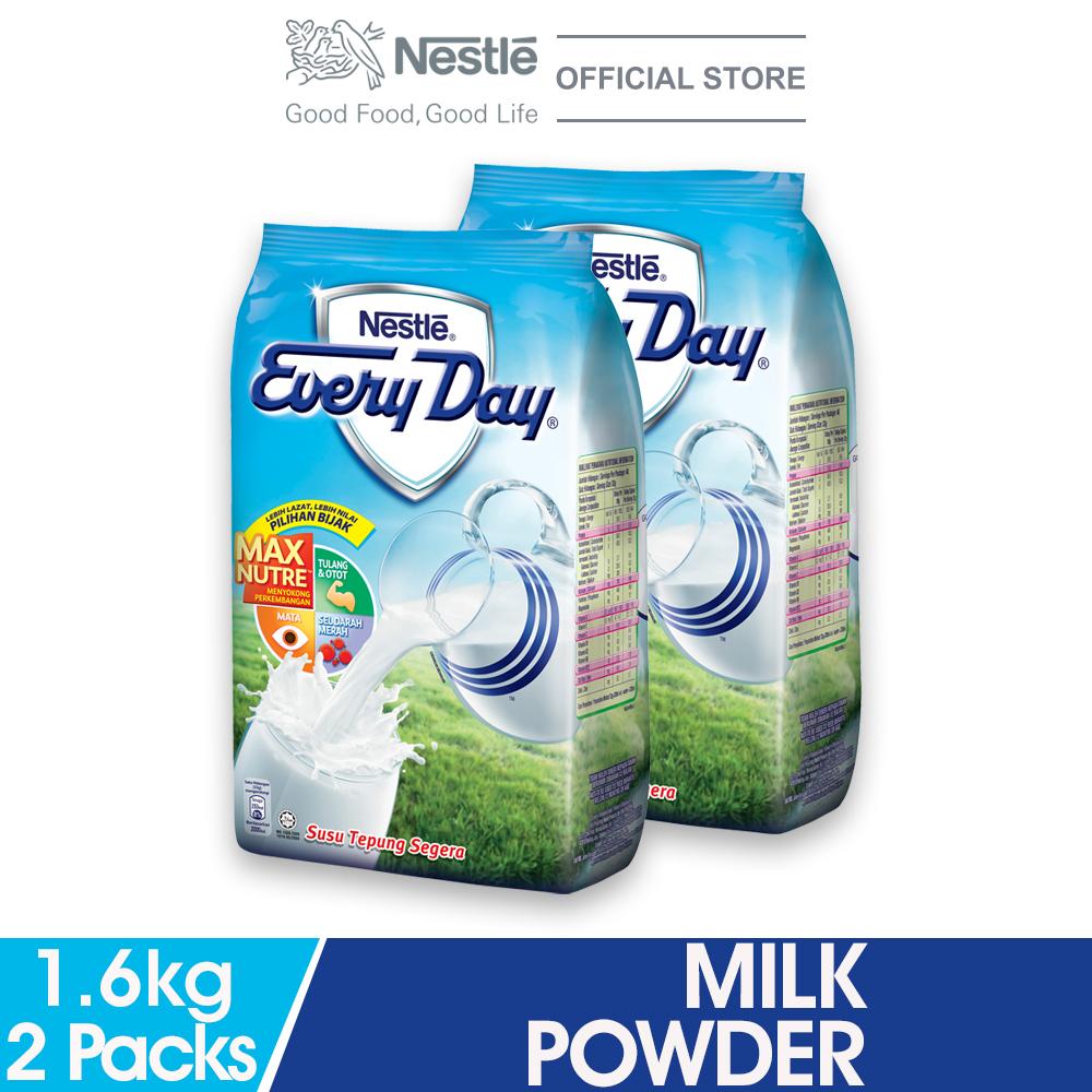 NESTLE EVERYDAY Milk Powder Softpack 1.6kg  x2 Packs