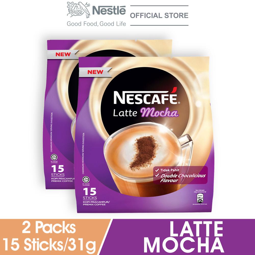 NESCAFE Blend and Brew Rich 25 Sticks 19g x2 packs