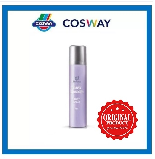 Designer Collection Musk Blossom Body Spray-75ML  (ORIGINAL COSWAY)