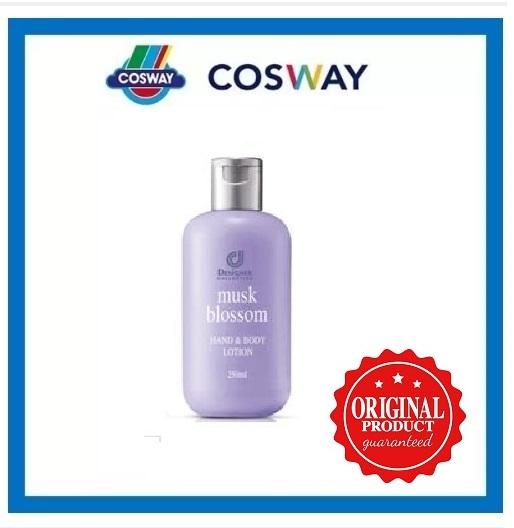 Designer Collection Musk Blossom Hand & Body Lotion - 250ml (ORIGINAL COSWAY )