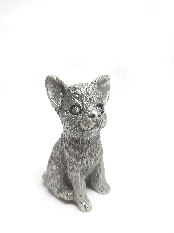 DKH020 Pewter Figurines - Dog