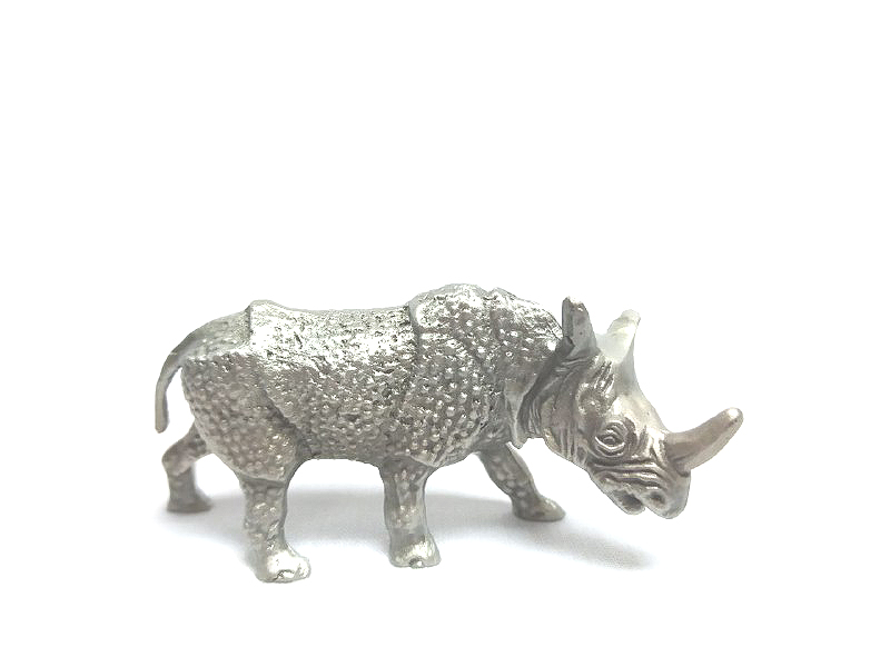 DKH032 Pewter Figurines - Rhino