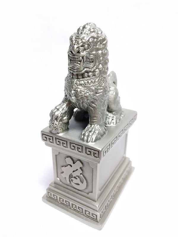 DKH044 Pewter Figurines - Lion with Pewter Base