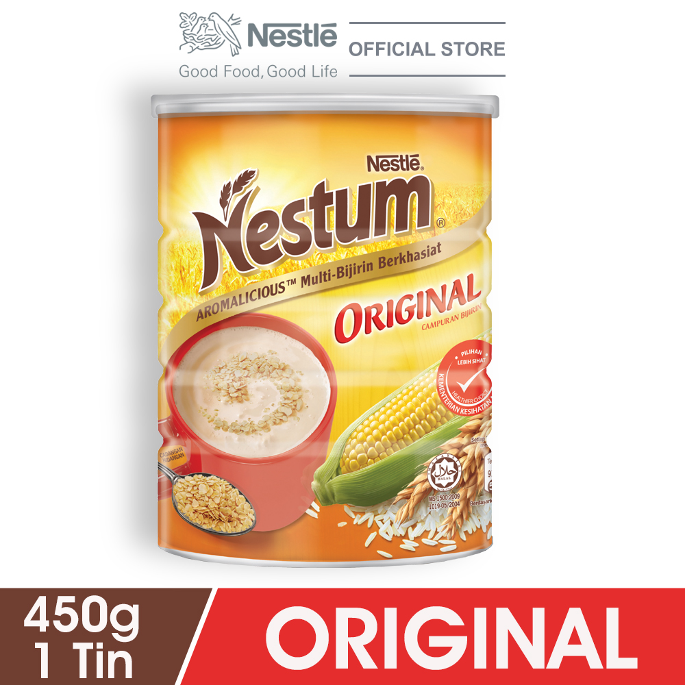 NESTLÉ NESTUM All Family Cereal Original Tin 450g
