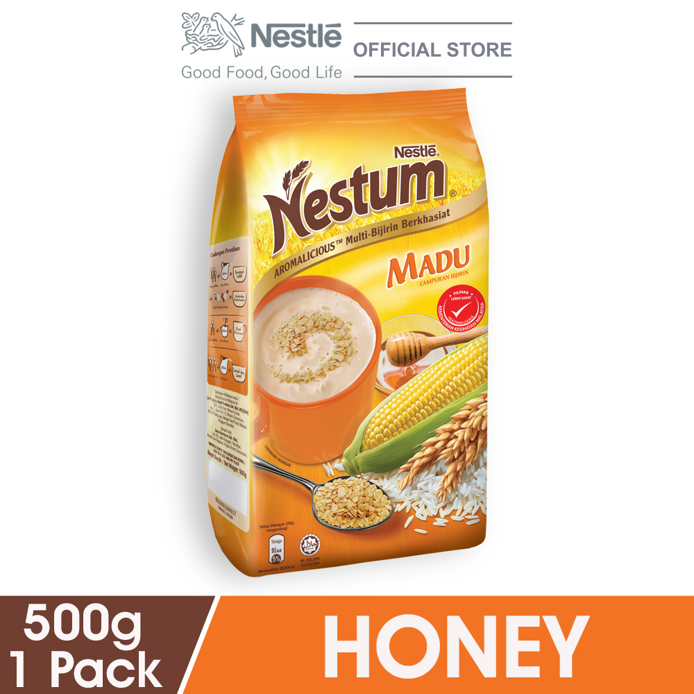 NESTLÉ NESTUM All Family Cereal Honey Soft Pack 500g