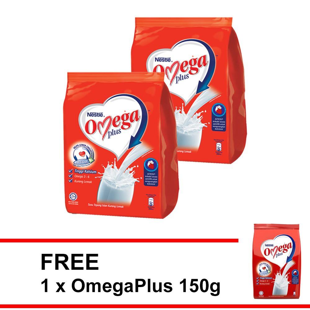 NESTLE OMEGA PLUS Milk Powder 1kg  ,Buy 2 FREE OMEGA 150g