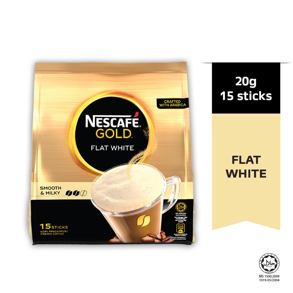 Nescafe Gold Flat White 24(15x20g)