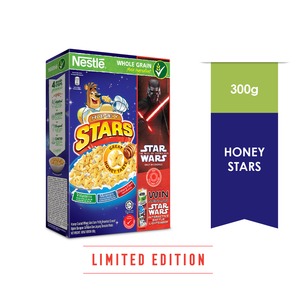 NESTLE HONEY STAR Cereal 300g (Star Wars Design)