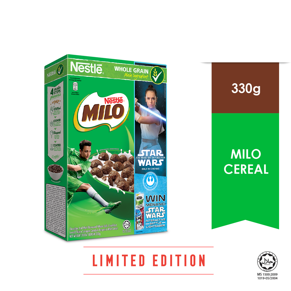 NESTLE MILO CEREAL 330g (Star Wars Design)
