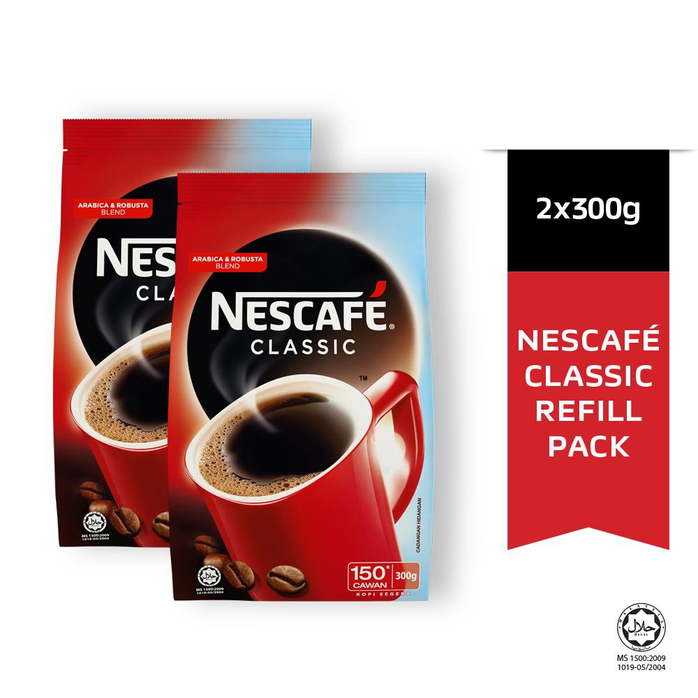 NESCAFE CLASSIC Refill 300g x2 packs