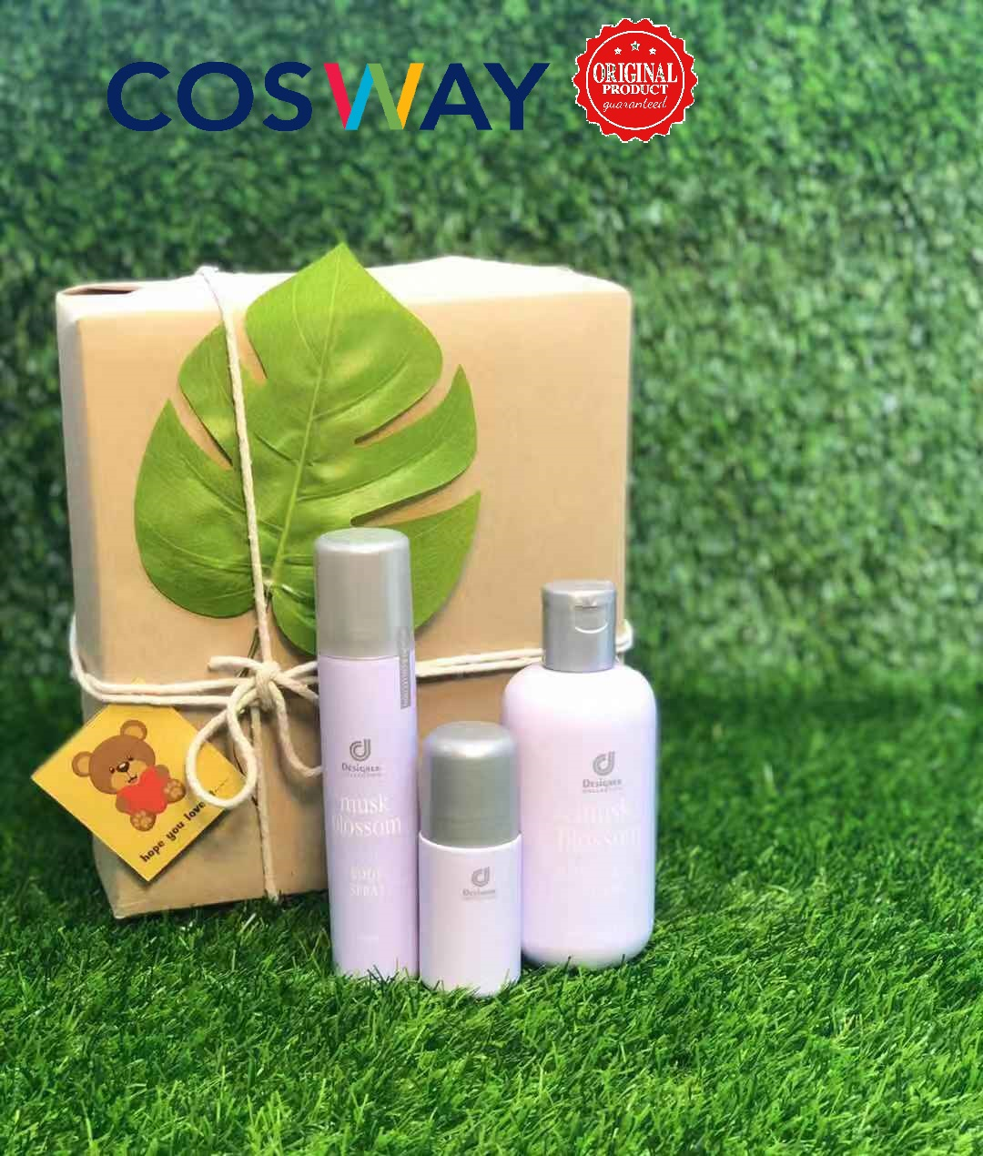 GS001- Cosway Musk Blossom Gift Set 3in1 (Original Cosway)
