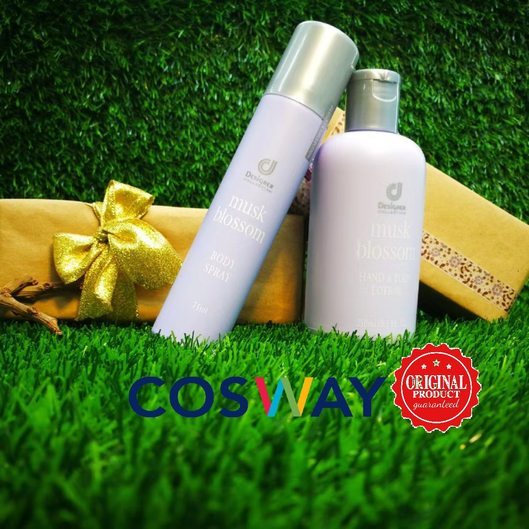 GS003- Cosway Musk Blossom Gift Set 2in1 (Original Cosway)