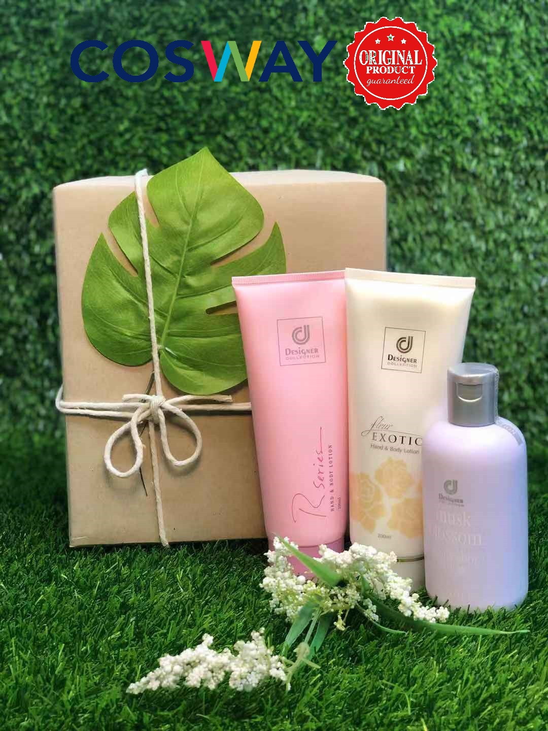 GS005- Cosway Designer Collection Lotion Series - Gift Set 3in1 (Original Cosway)