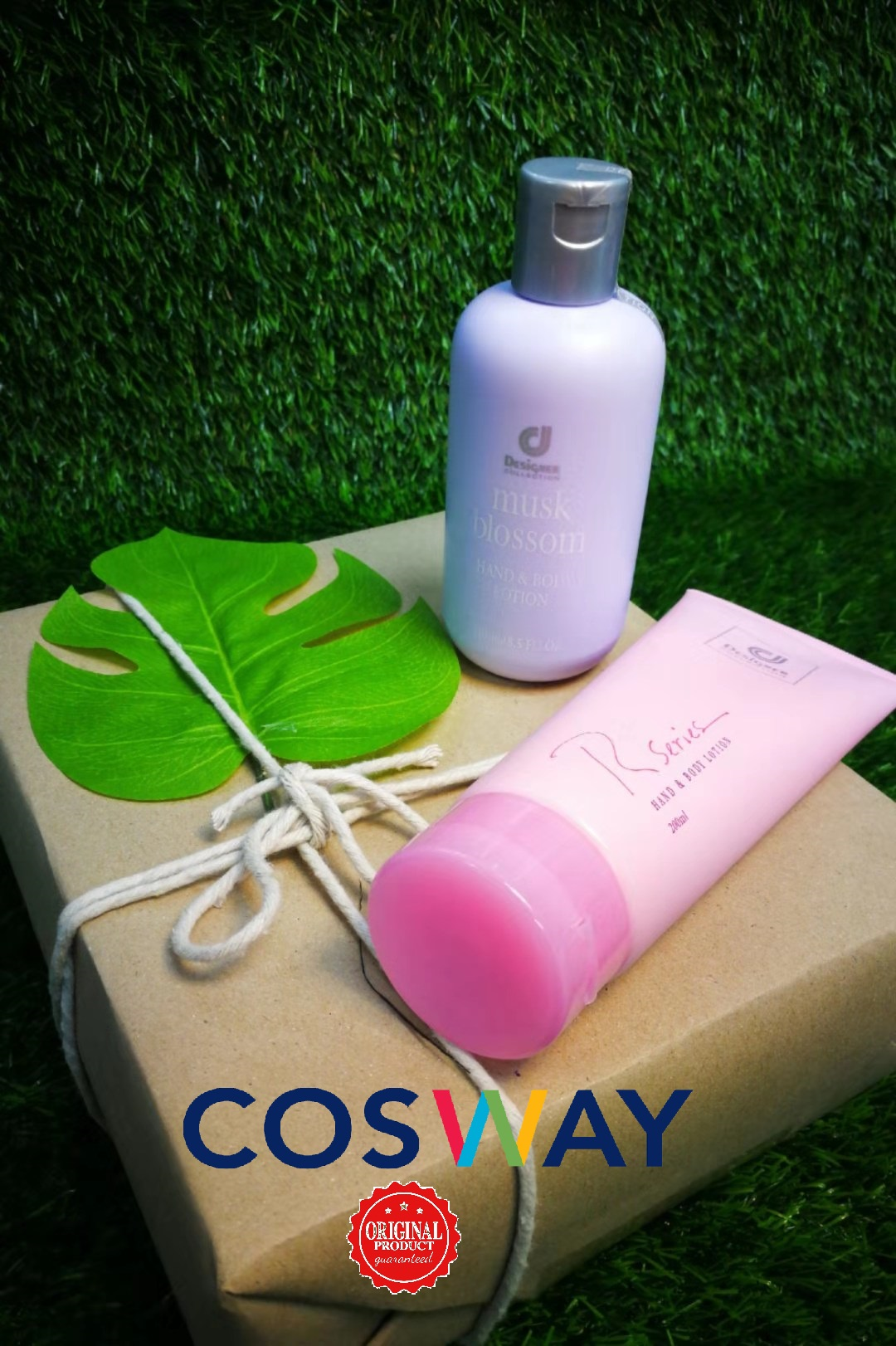 GS006- Cosway Designer Collection Lotion Series - Gift Set 2in1 (Original Cosway)