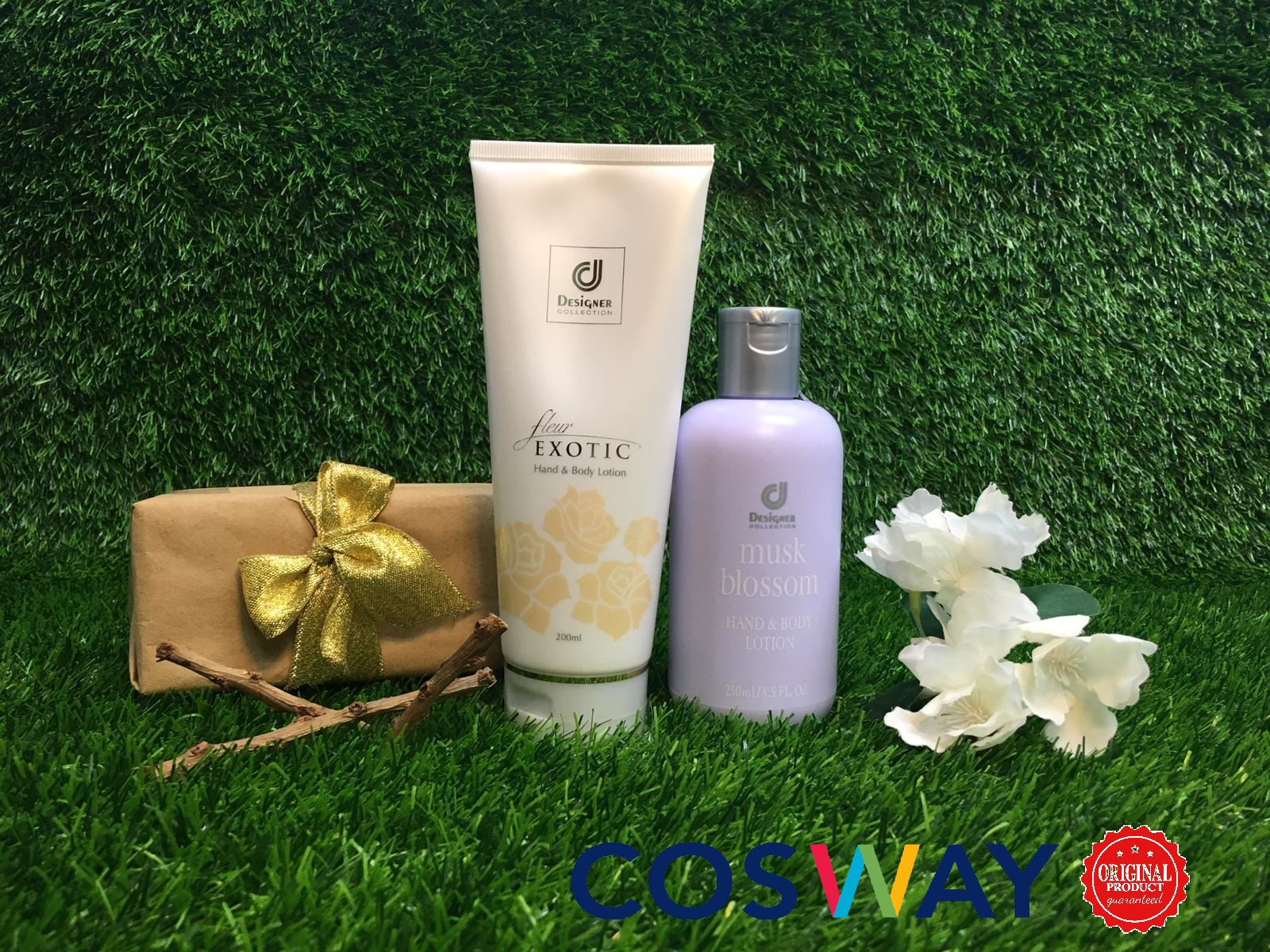 GS007- Cosway Designer Collection Lotion Series - Gift Set 2in1 (Original Cosway)