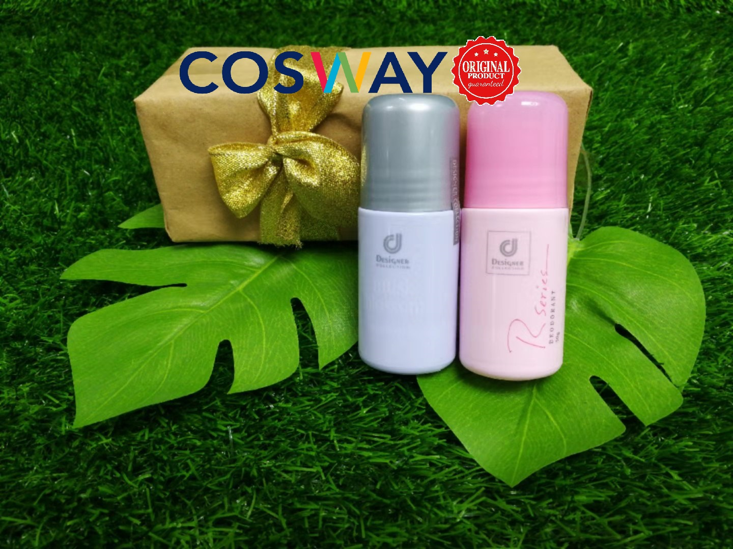 GS013- Cosway Designer Collection Deodorant Series - Gift Set 2in1 (Original Cosway)
