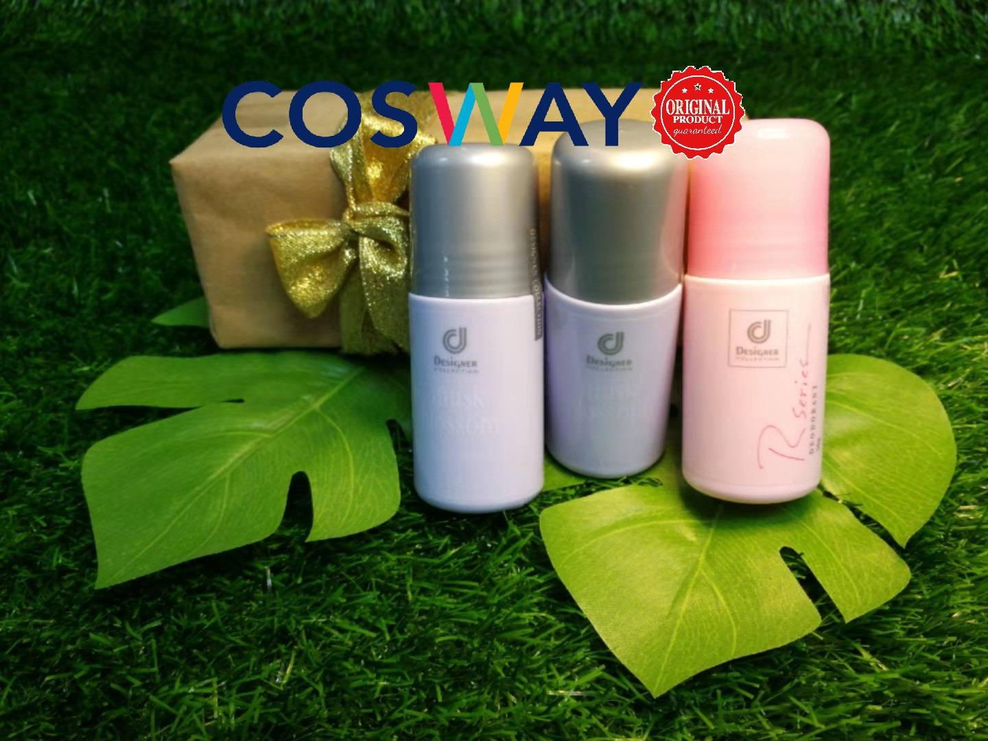 GS014- Cosway Designer Collection Deodorant Series - Gift Set 3in1 (Original Cosway)