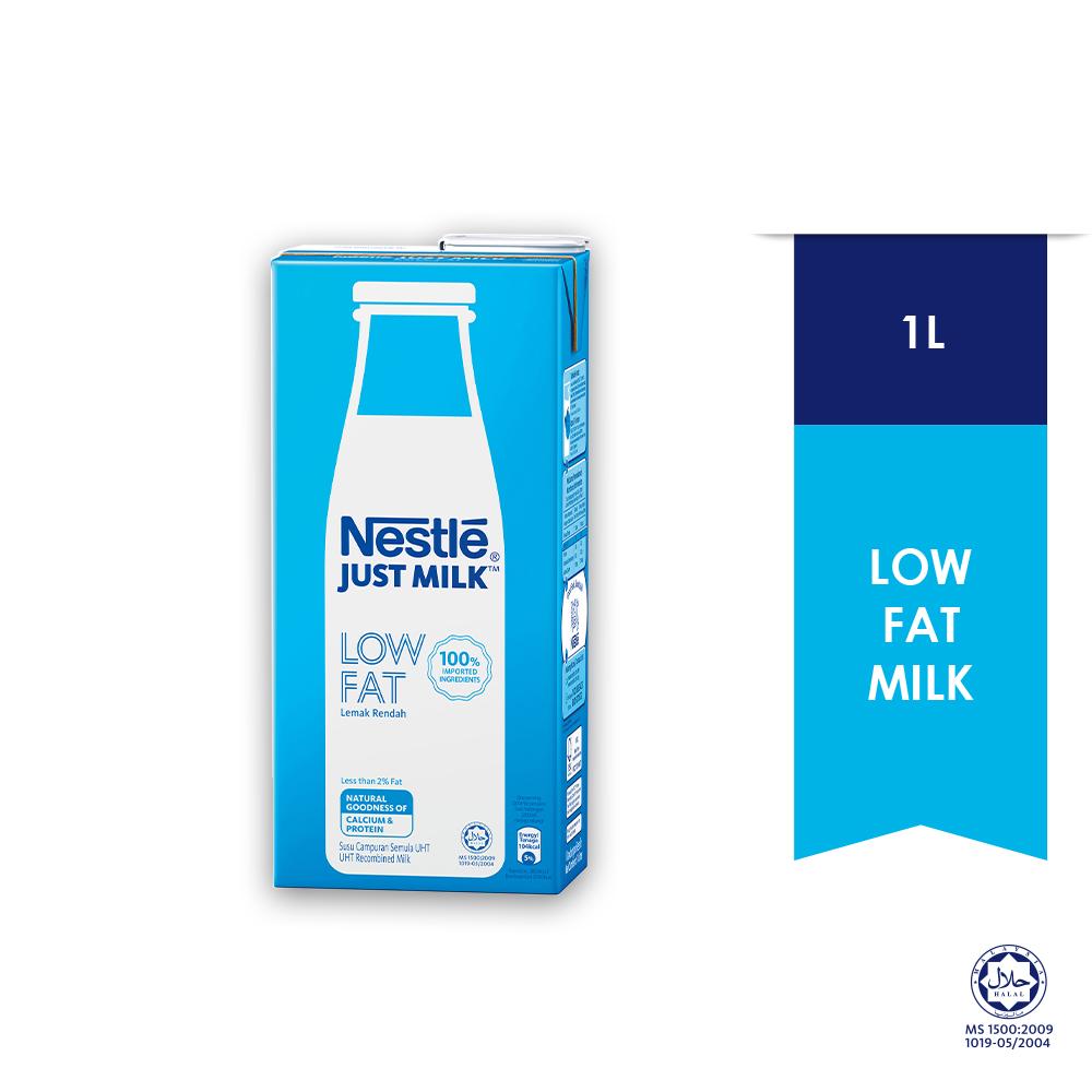 NESTLÉ JUST MILK™ Low Fat Milk 1L