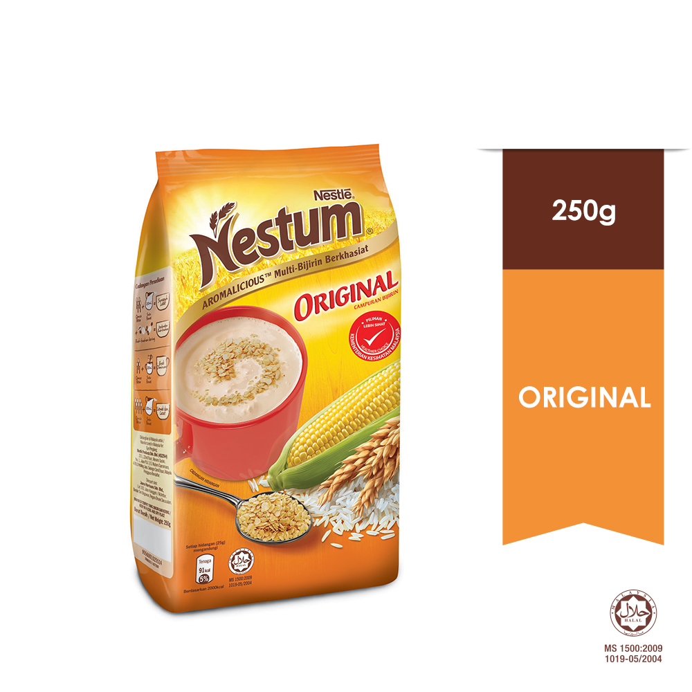 NESTLE NESTUM All Family Cereal Original Softpack 250g