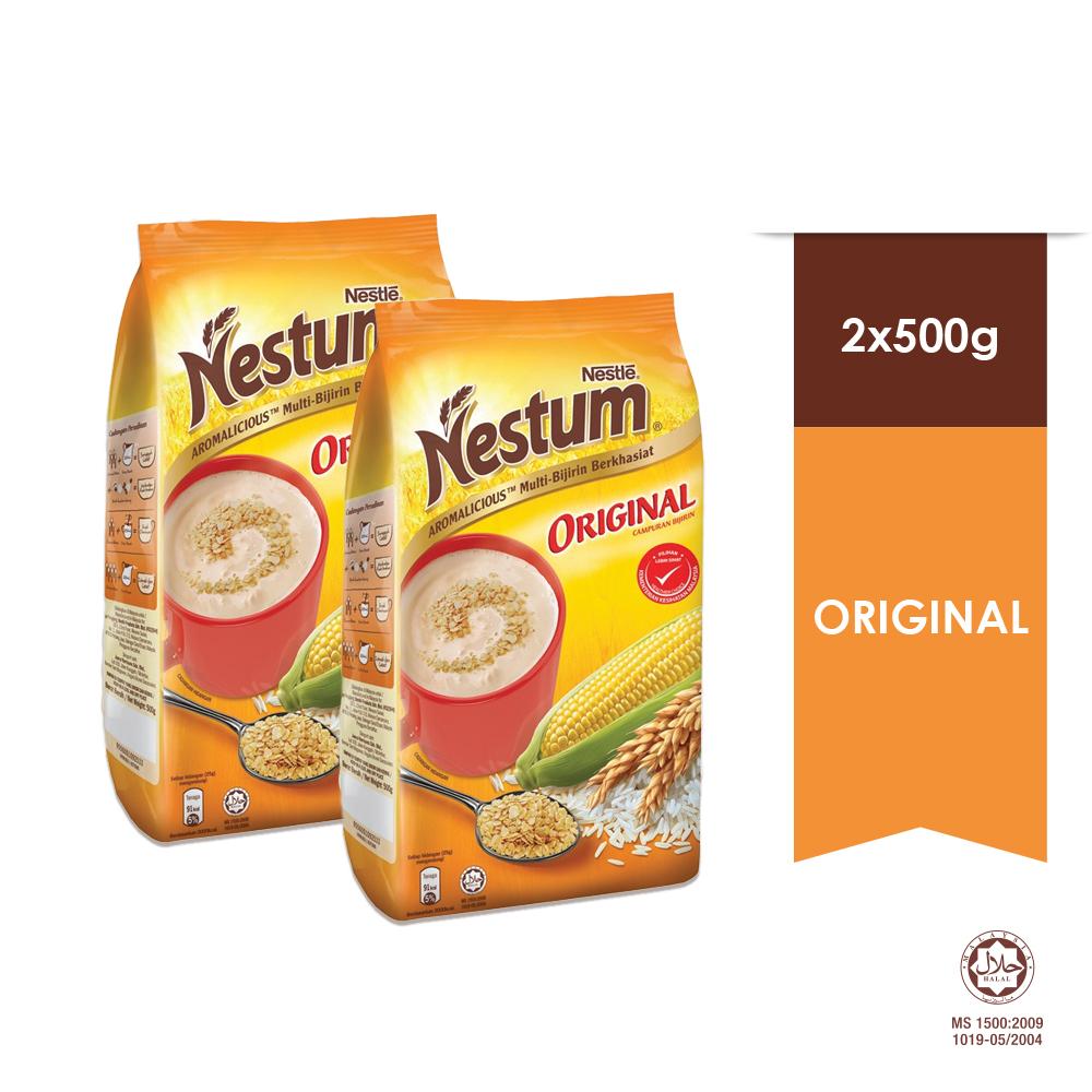 NESTLE NESTUM All Family Cereal Original Softpack 500g x2 packs