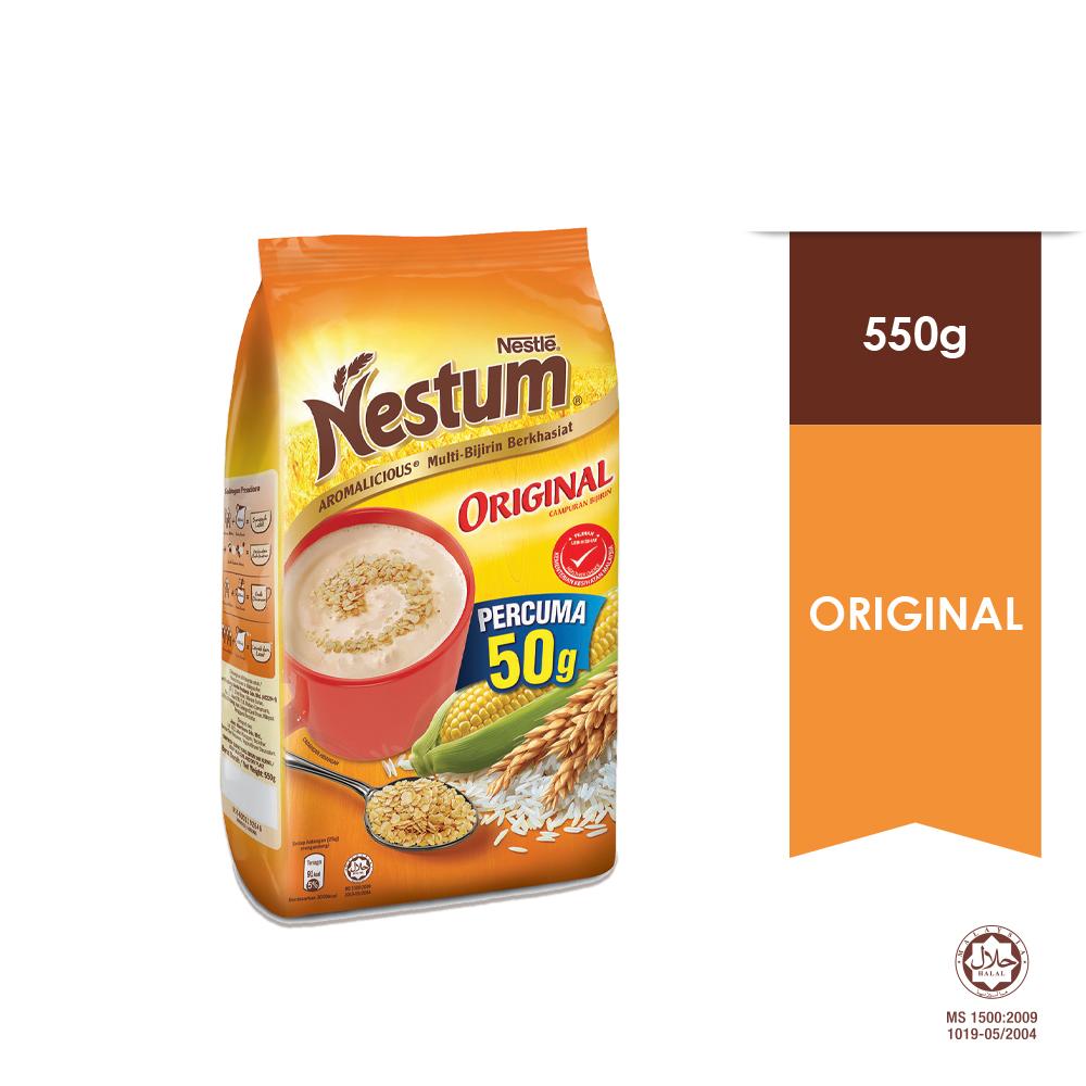 NESTUM All Family Cereal Original 550g, EXP DATE : FEB '20
