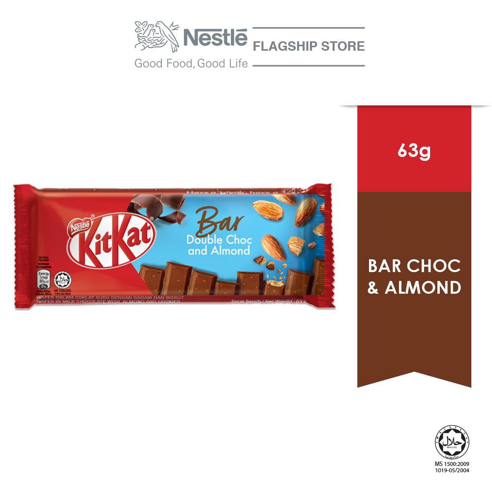 KIT KAT Bar Double Choc & Almond 63g