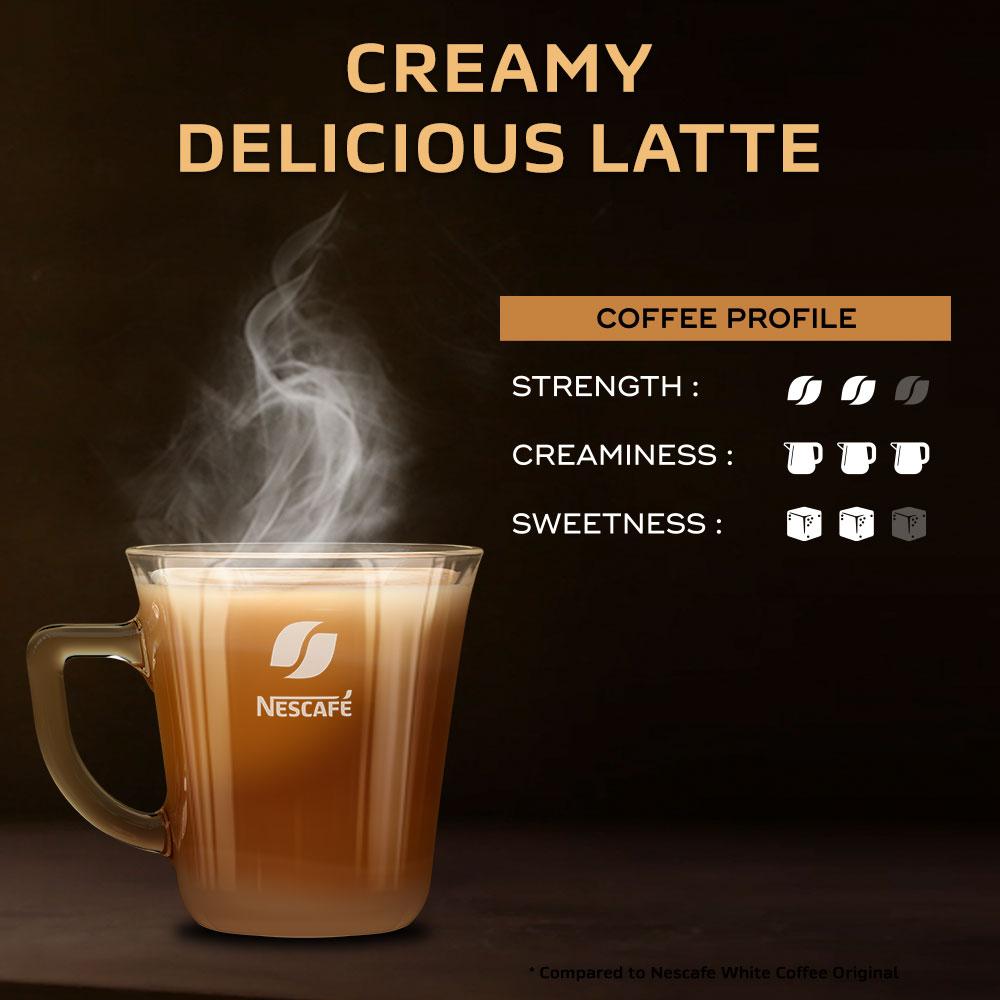 NESCAFE GOLD Creamy Latte 12 sticks, 31g Bundle of 3
