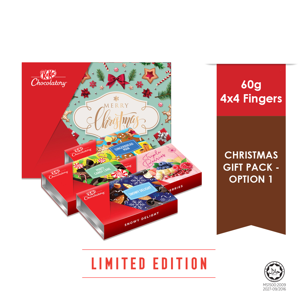 Nestle KITKAT Chocolatory Gingerbread Man - Option 1