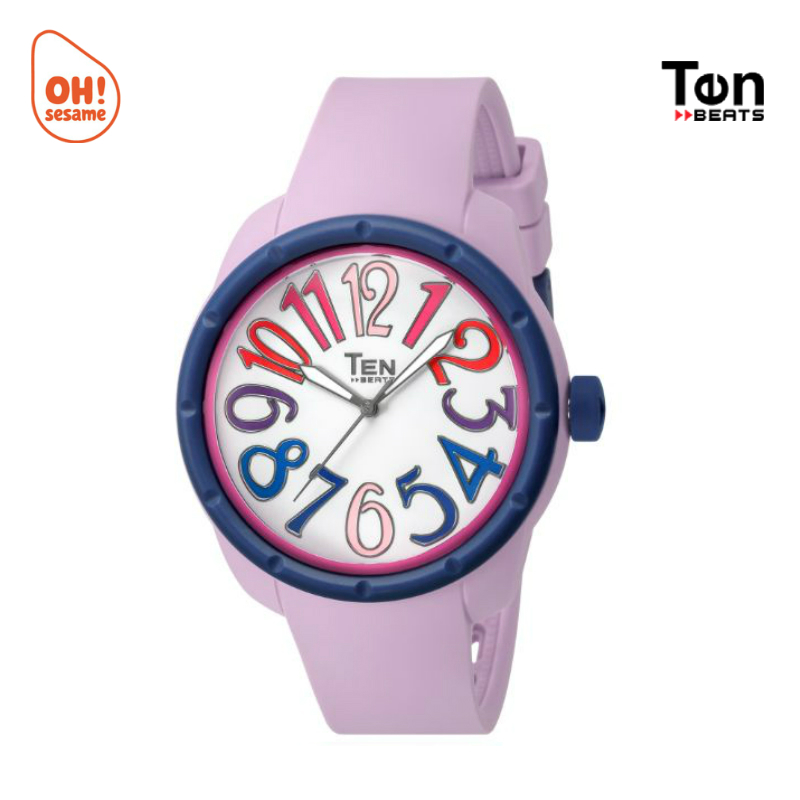 TENDENCE- TEN BEATS Unisex Silicone Strap Watch (BF130207)