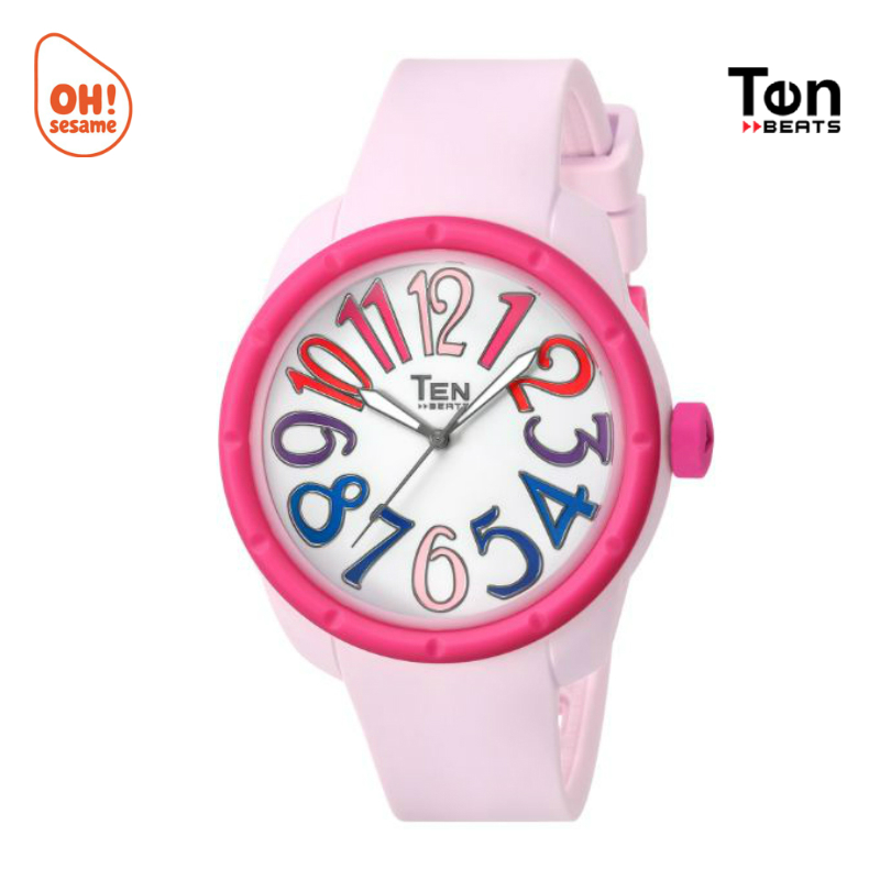 TENDENCE- TEN BEATS Unisex Silicone Strap Watch (BF130208)