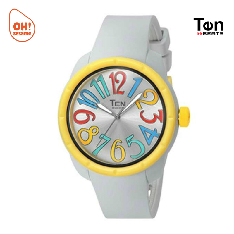 TENDENCE- TEN BEATS Unisex Silicone Strap Watch (BF130209)
