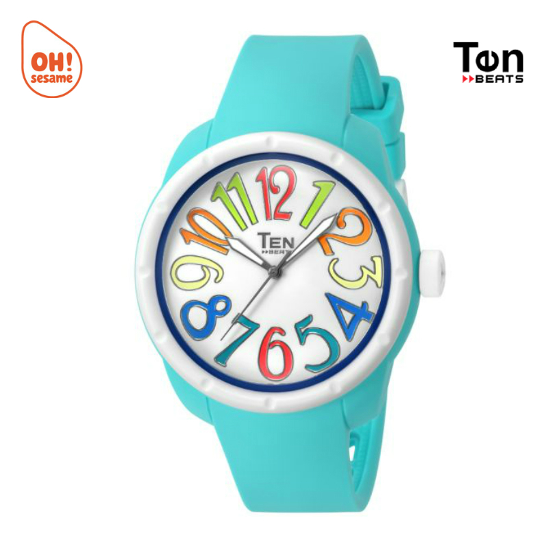 TENDENCE- TEN BEATS Unisex Silicone Strap Watch (BF130210)
