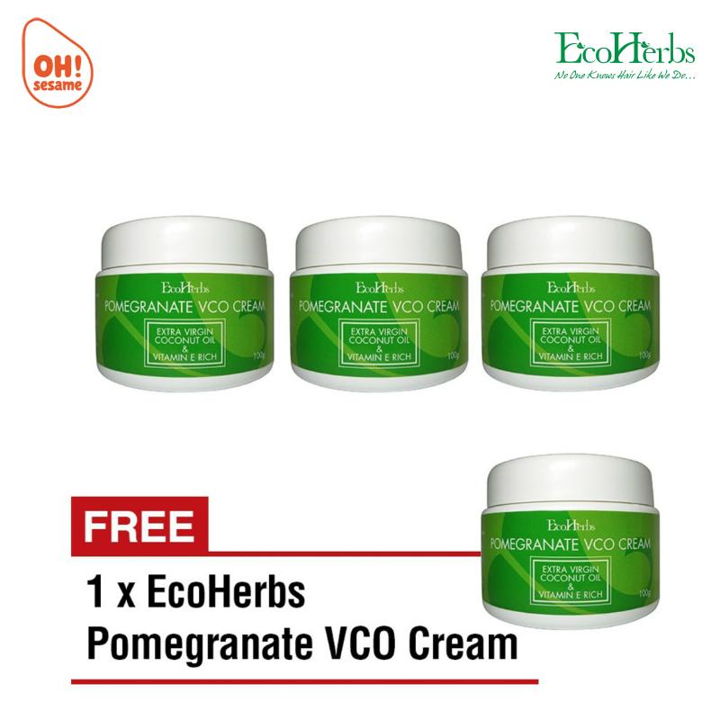 EcoHerbs Pomegranate VCO Cream (B3F1)