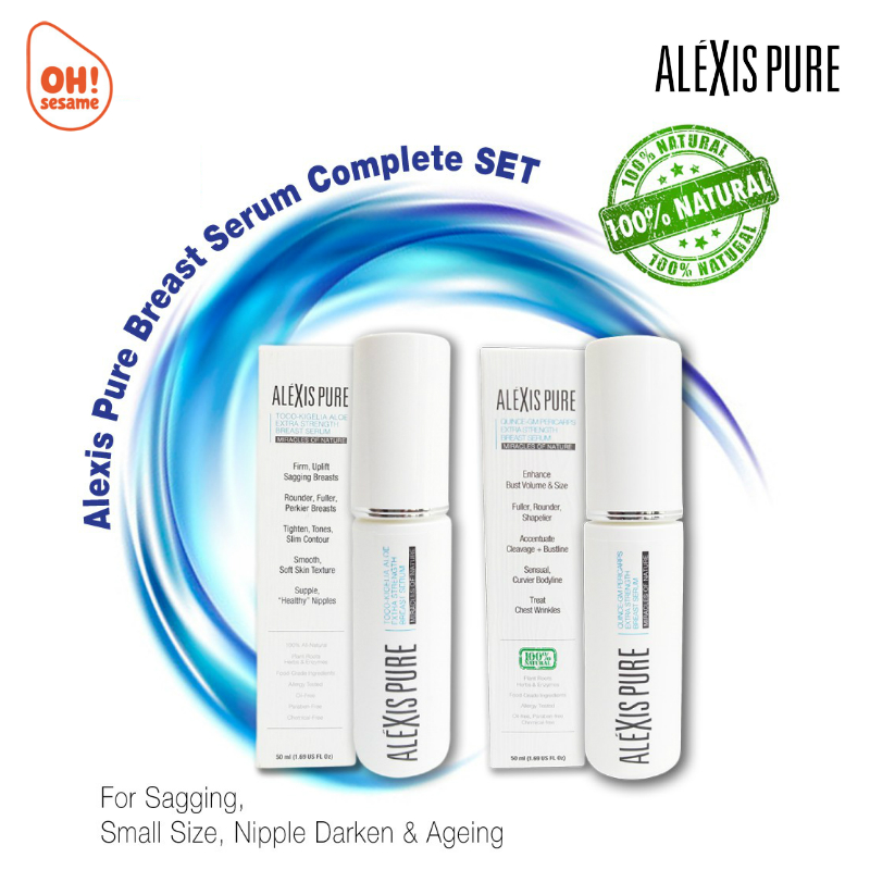Alexis Pure Extra Strength Breast Serum Package