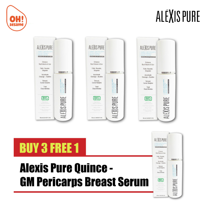 Alexis Pure Quince-GM Pericarps Extra Strength Breast Serum- Breast Enlargement (B3F1)
