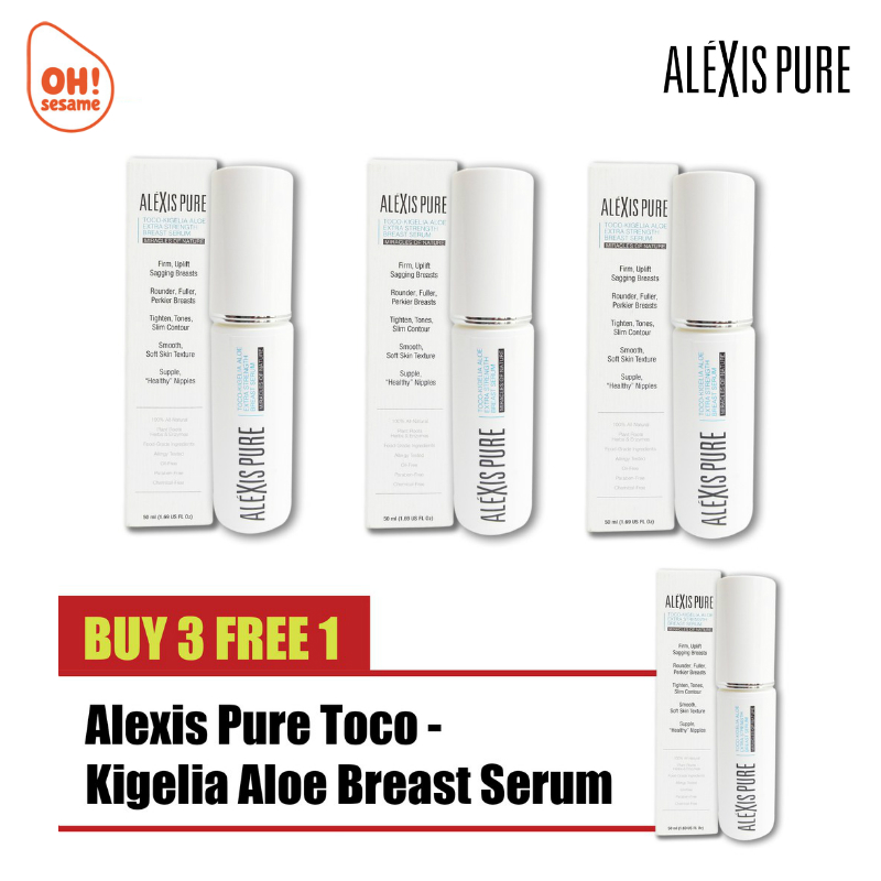Alexis Pure Toco-Kigelia Aloe Extra Strength Breast Serum- Breast Firming (B3F1)