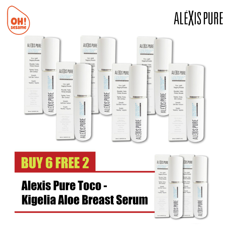 Alexis Pure Toco-Kigelia Aloe Extra Strength Breast Serum- Breast Firming (B6F2)
