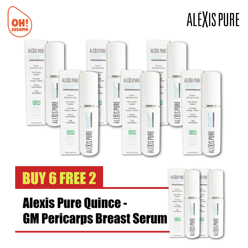 Alexis Pure Quince-GM Pericarps Extra Strength Breast Serum- Breast Enlargement (B6F2)