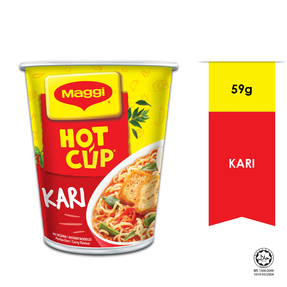 MAGGI Hot Cup Curry 1 Cup 59g
