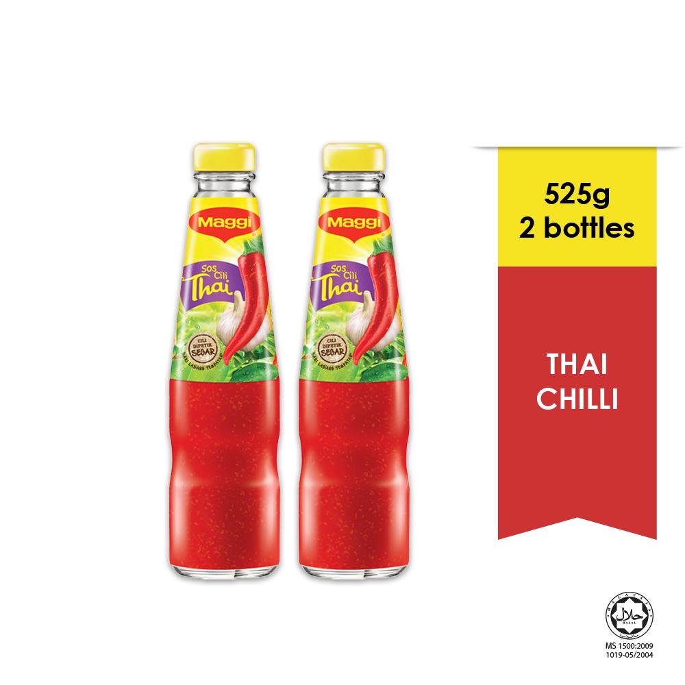 MAGGI Thai Chilli Sauce 525g x2 bottles