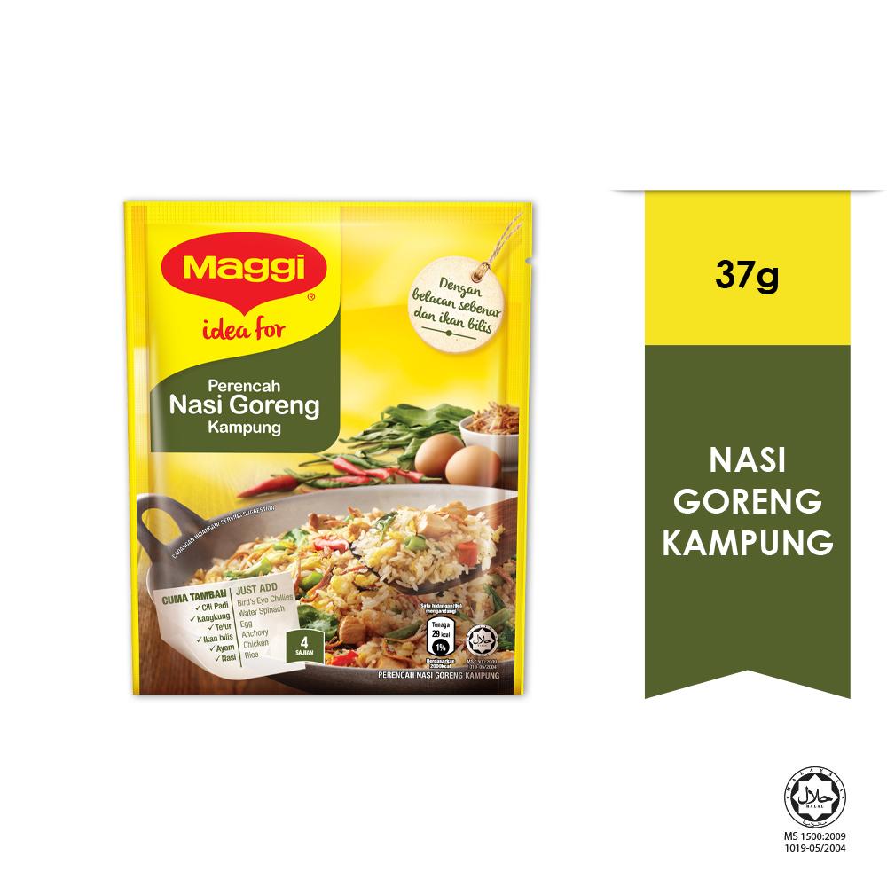 MAGGI Hari-Hari Favourites Nasi Goreng Kampung Seasoning (1 Pack of 37g)