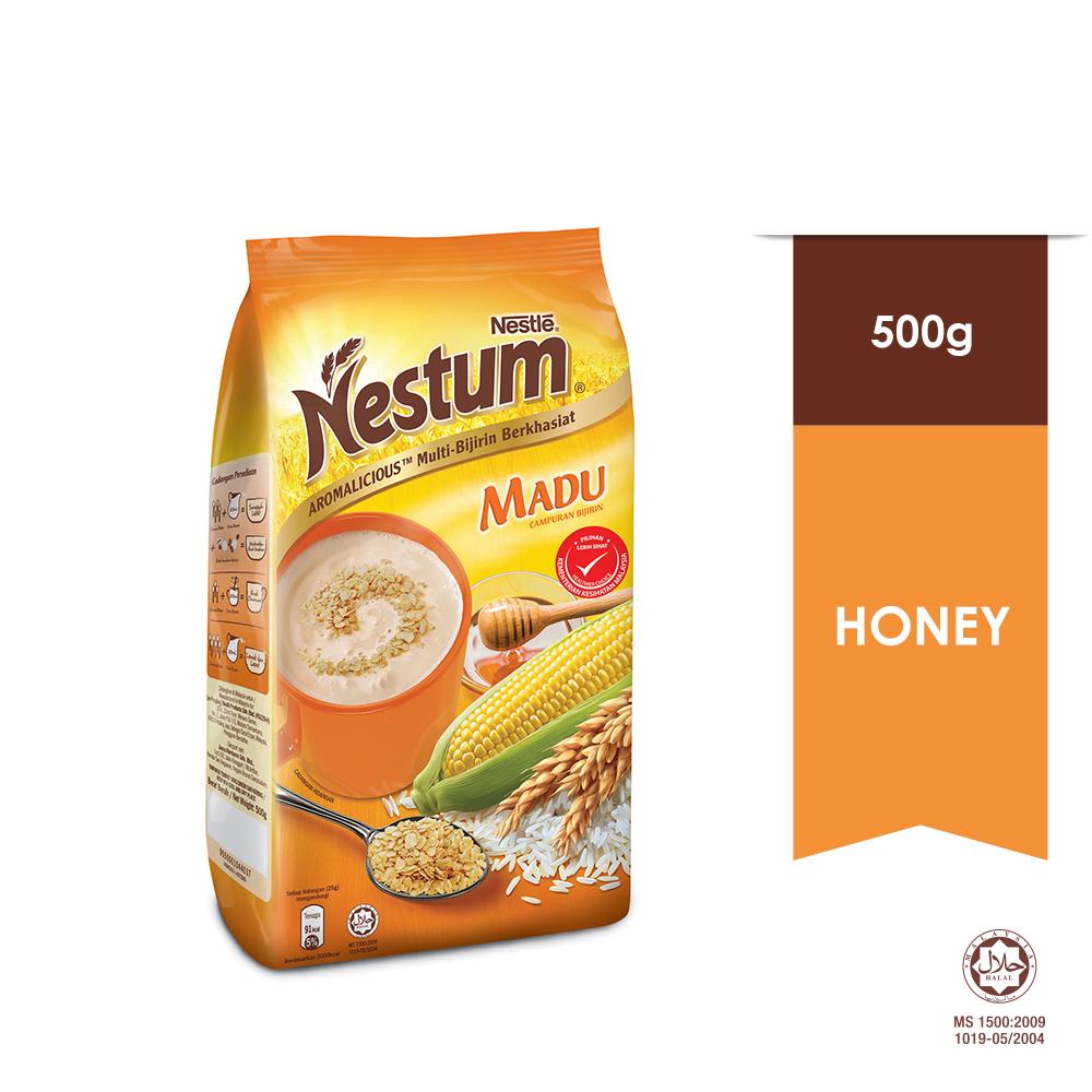 NESTLÉ NESTUM All Family Cereal Honey Soft Pack 500g