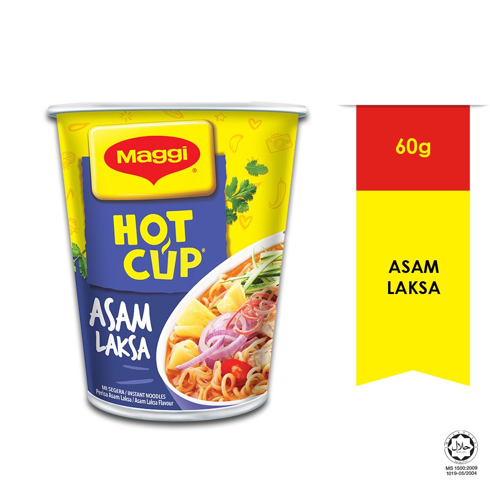 MAGGI Hot Cup Asam Asam Laksa 1 Cup 60g