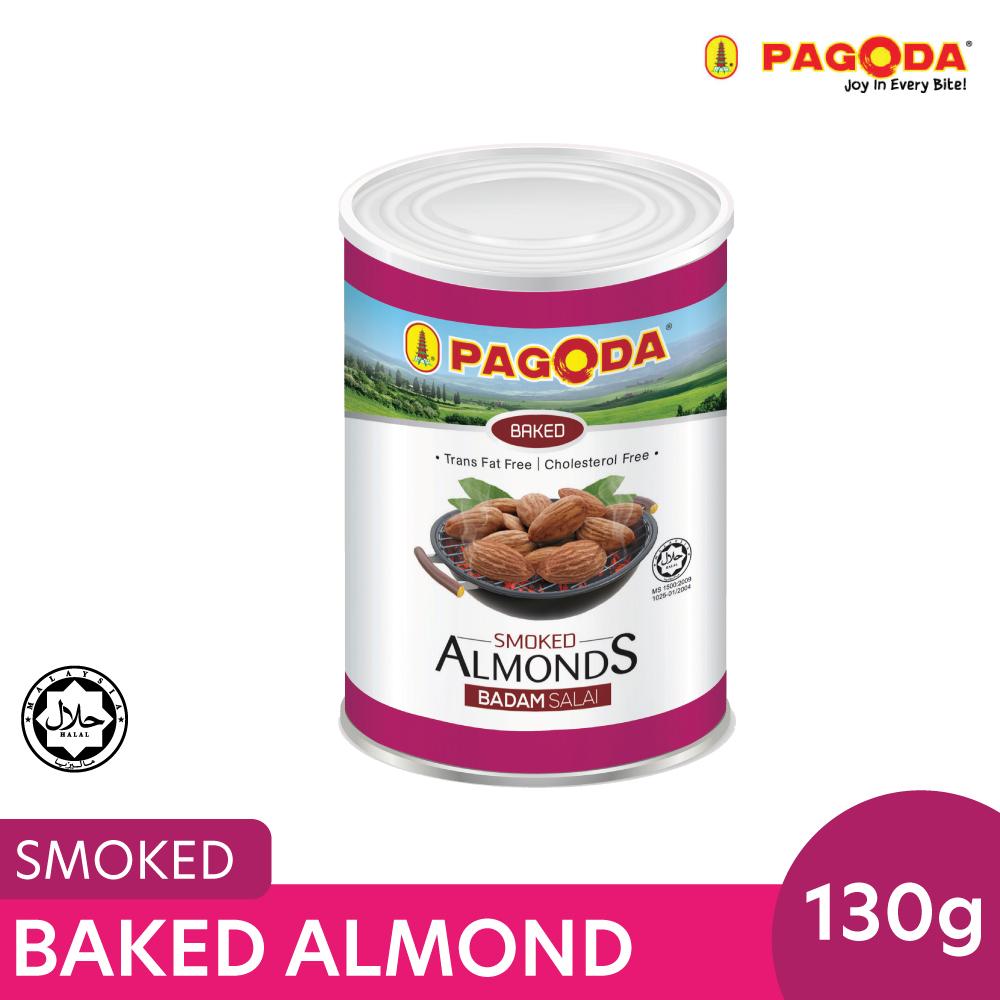 Pagoda Baked Almond Smoked 130g