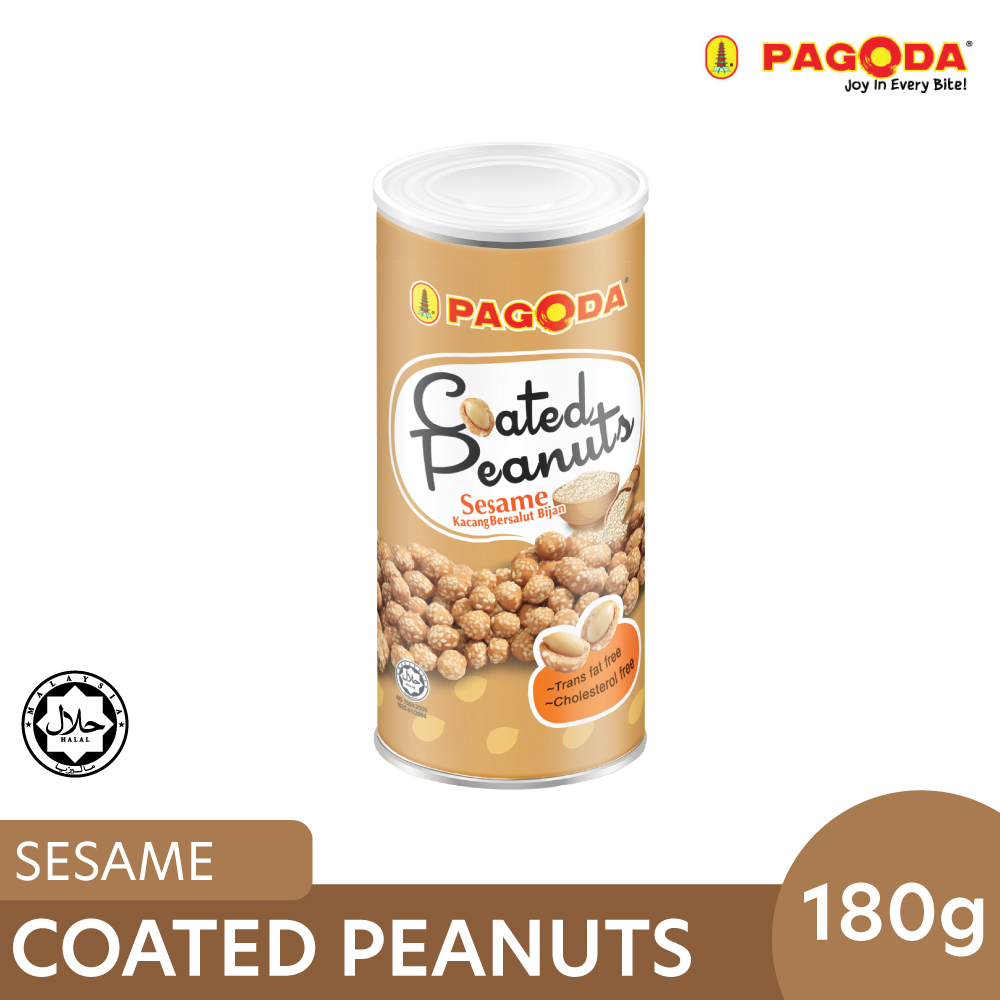 Pagoda Coated Peanut Sesame 180g